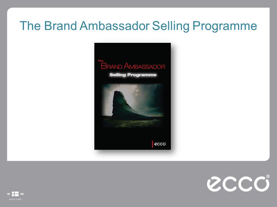 The Brand Ambassador Selling Programme