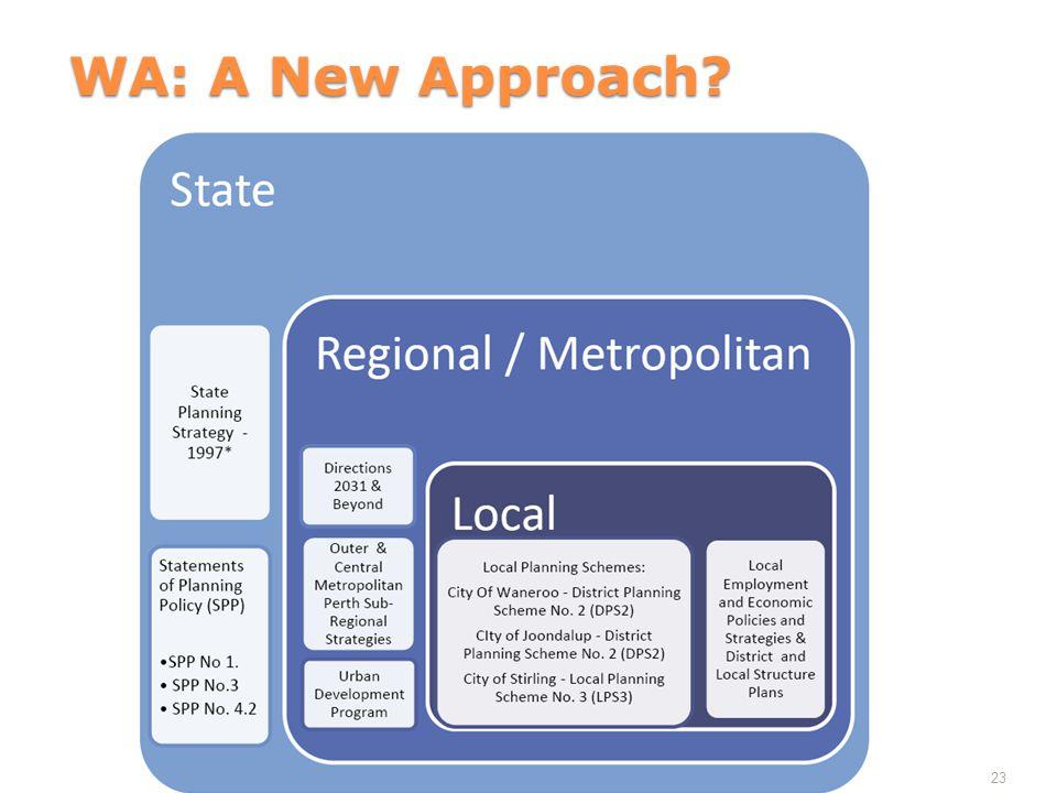 WA: A New Approach 23