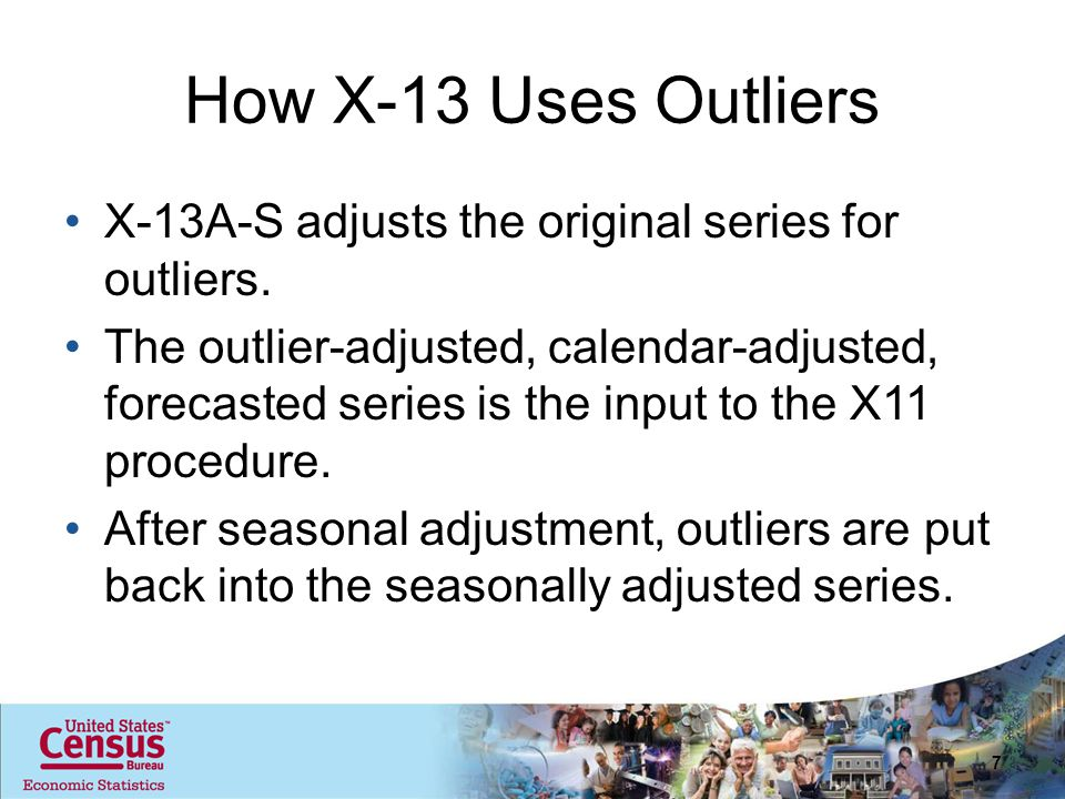 Summary Intervention outliers resulted in a better model fit for most series Changes to the seasonally adjusted series vary by sector, series 38