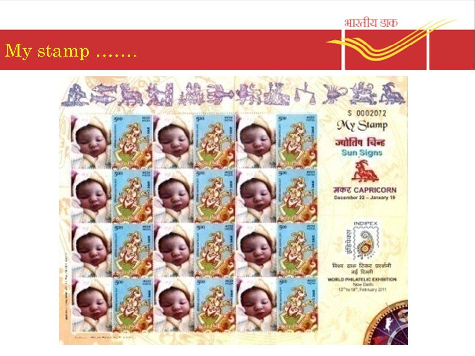 My stamp …….
