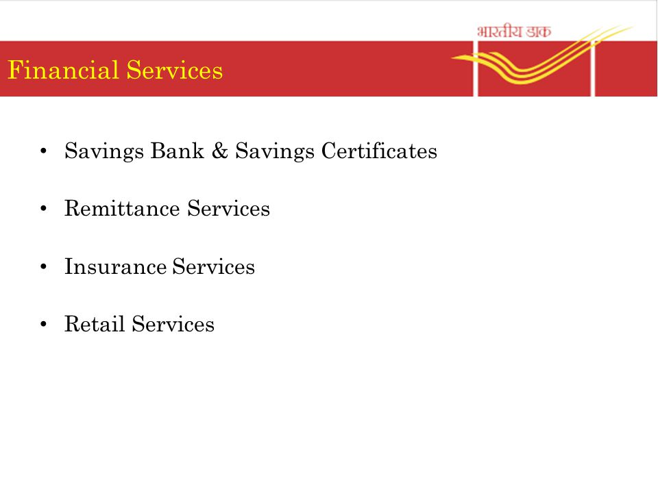 Financial Services Savings Bank & Savings Certificates Remittance Services Insurance Services Retail Services
