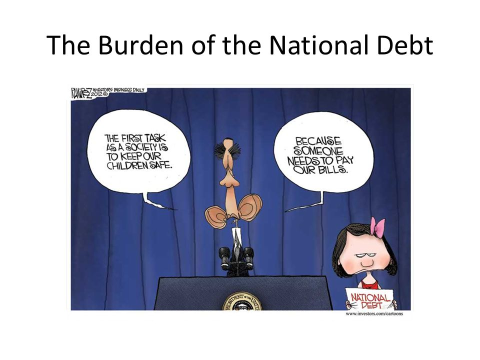 The Burden of the National Debt