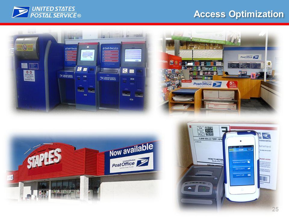 ® 25 Access Optimization