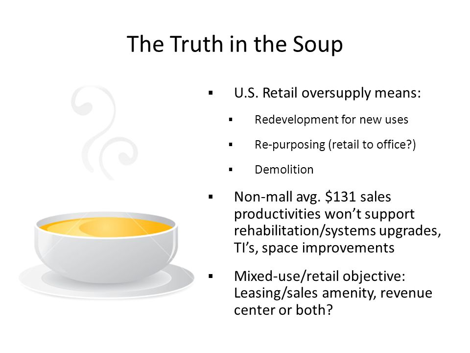 The Truth in the Soup  U.S.