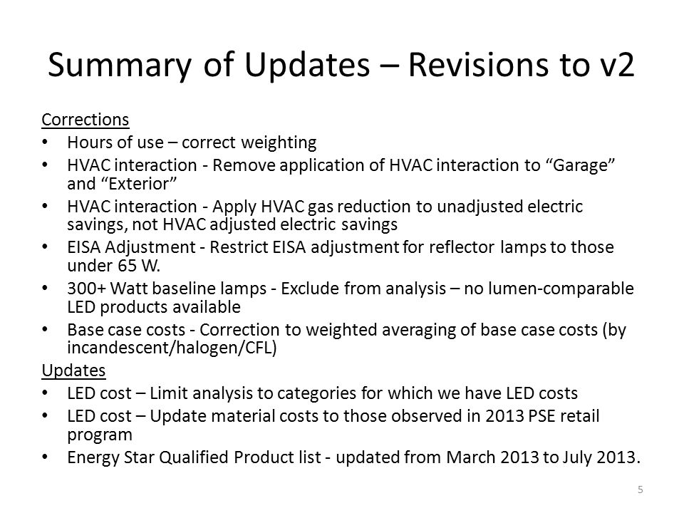 Summary of Changes Effects on retail measures – Changed values, changed complete bins with complete data Inclusion of additional delivery mechanisms – [review DirectInstallSummary and Retail Summary tabs] Data sufficiency Results (Savings, B/C) 16