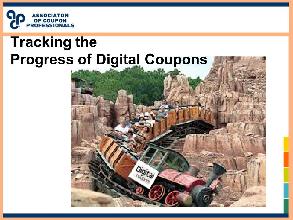 Tracking the Progress of Digital Coupons