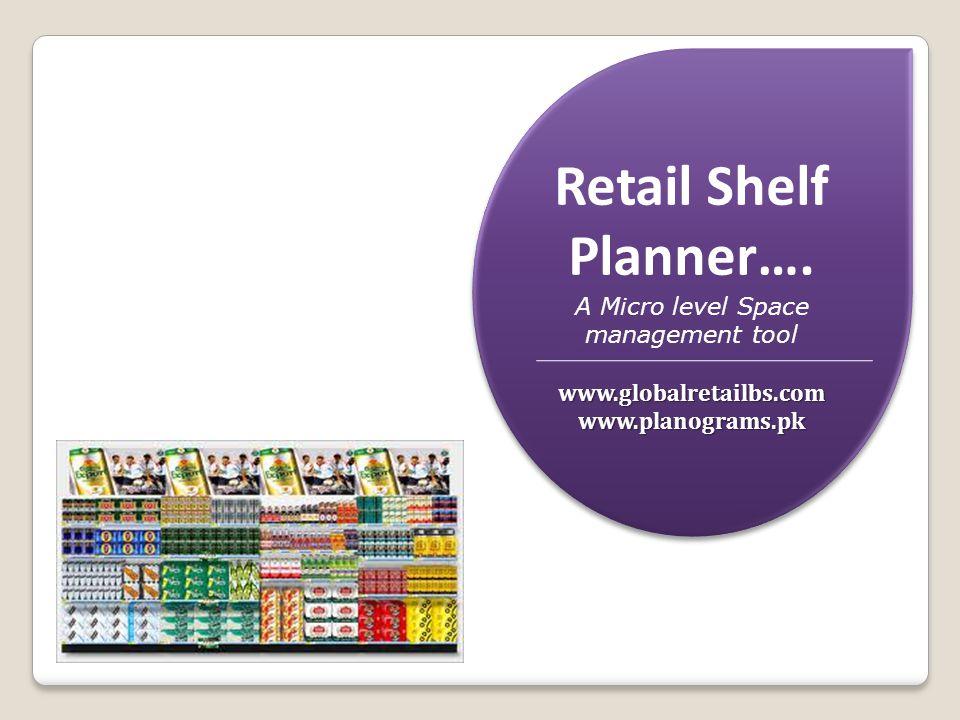 Retail Shelf Planner….