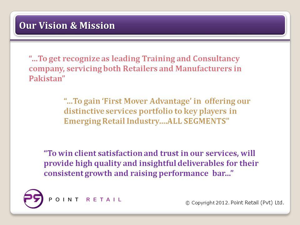© Copyright 2012. Point Retail (Pvt) Ltd.