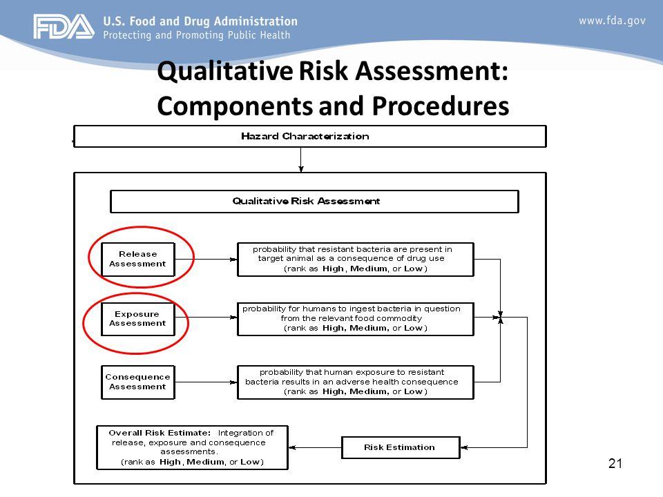 Qualitative Risk Assessment: Components and Procedures 21