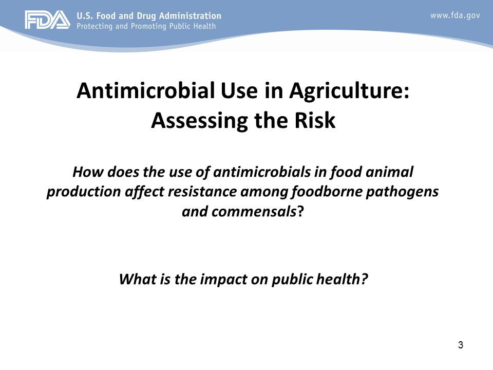 How does the use of antimicrobials in food animal production affect resistance among foodborne pathogens and commensals.