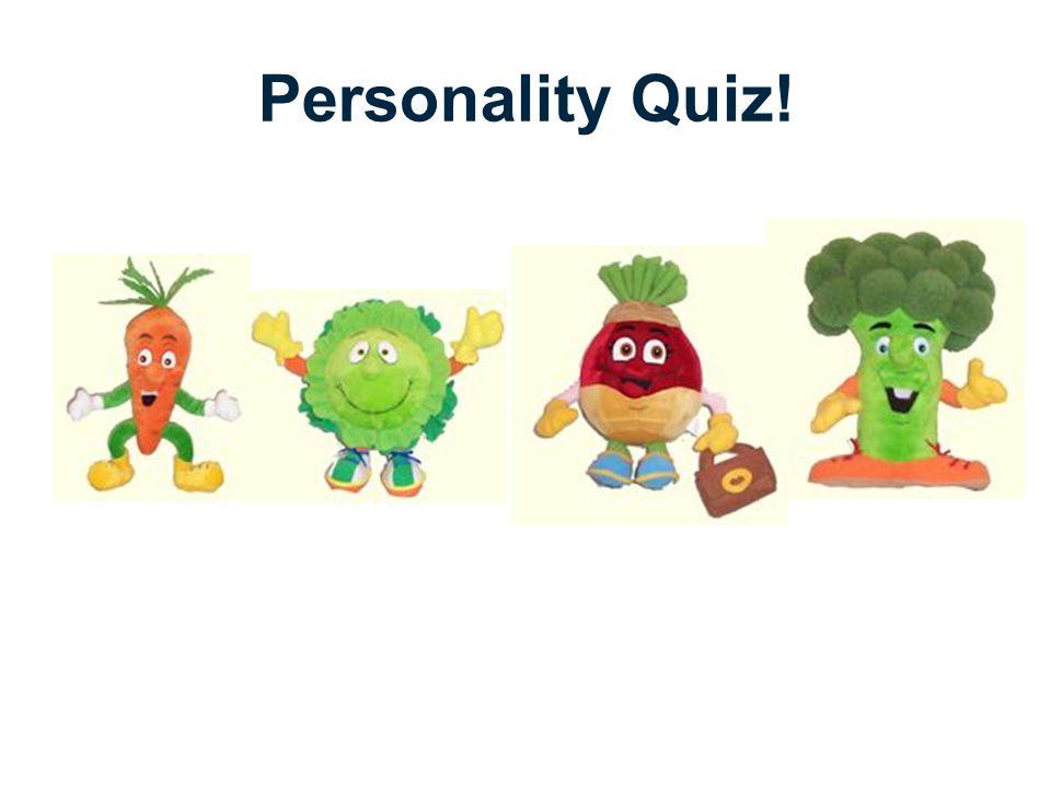 Personality Quiz!