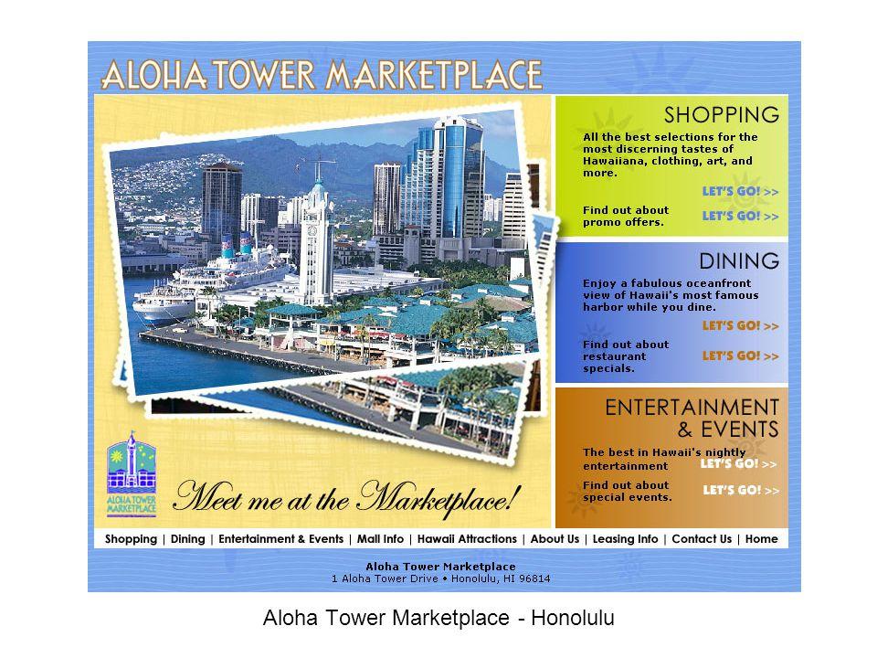 Aloha Tower Marketplace - Honolulu