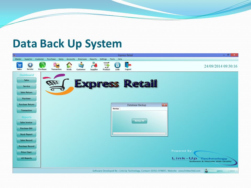 Data Back Up System