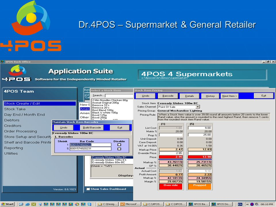 Dr.4POS – Supermarket & General Retailer Question 24 : The big question - License fees.