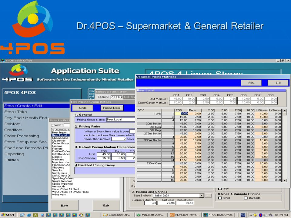 Dr.4POS – Supermarket & General Retailer Question 6 : I also sell to customer & give them a special price, so when I am not in the shop – they can't place their orders.