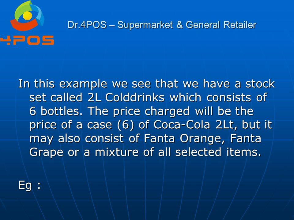 Dr.4POS – Supermarket & General Retailer