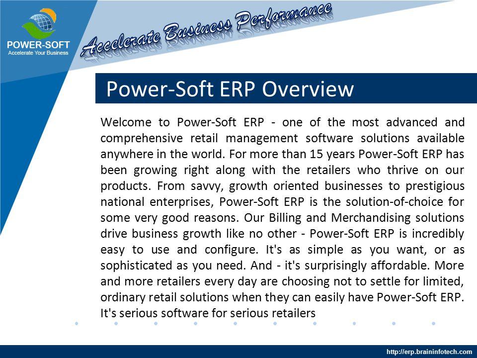 http://erp.braininfotech.com Integrated Tools Billing Features Easy multi payment mode.