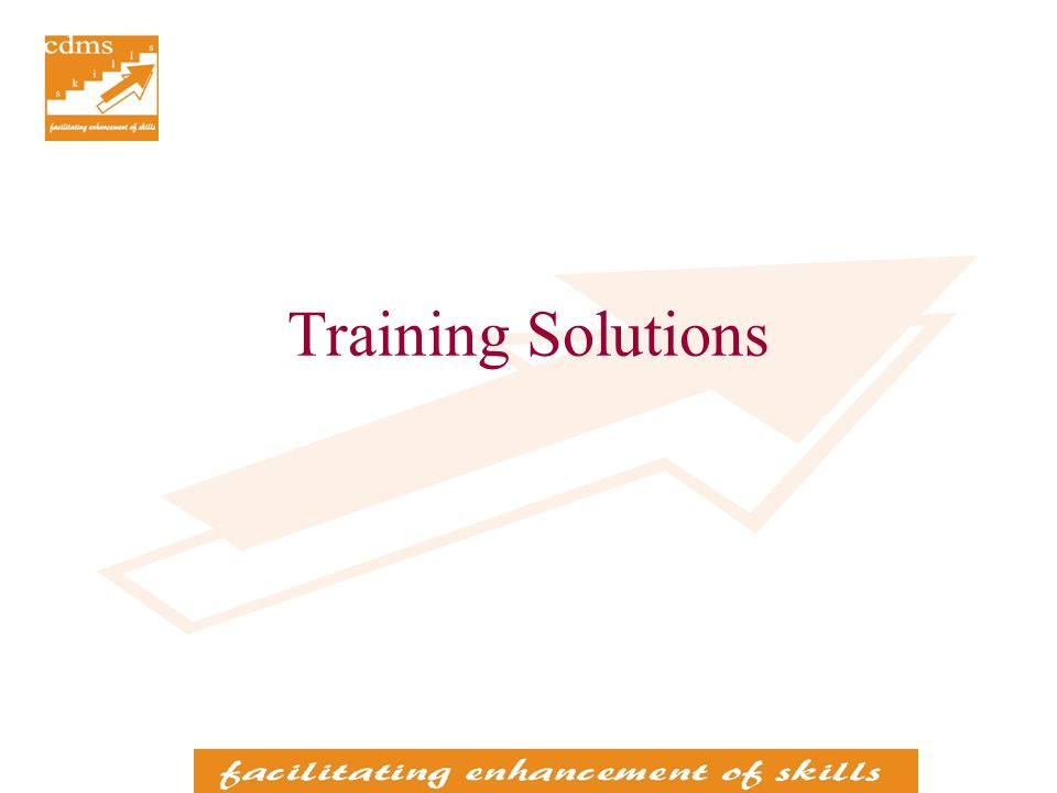Training in Personal Effectiveness Topics Communication skills Presentation skills Inter-Personal skills Problem Solving skills Time Management Stress Management Target Audience Personnel at middle and junior levels in any function Personnel at any level in any function