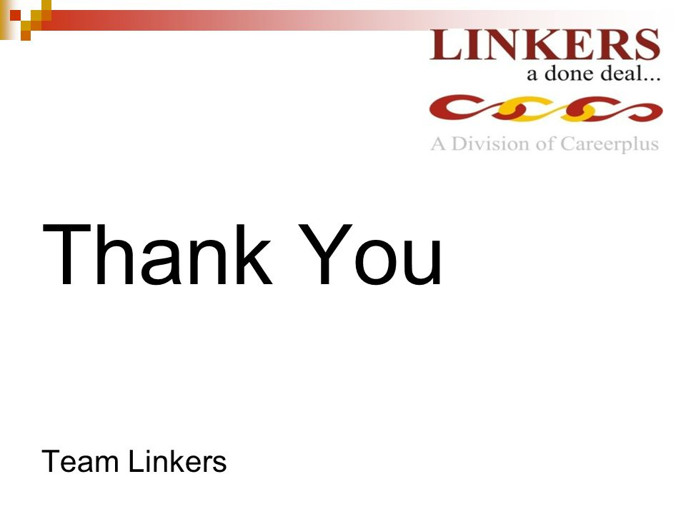 Thank You Team Linkers