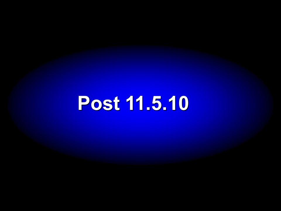 Post 11.5.10