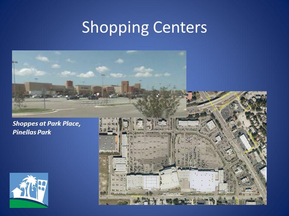 Shopping Centers Shoppes at Park Place, Pinellas Park