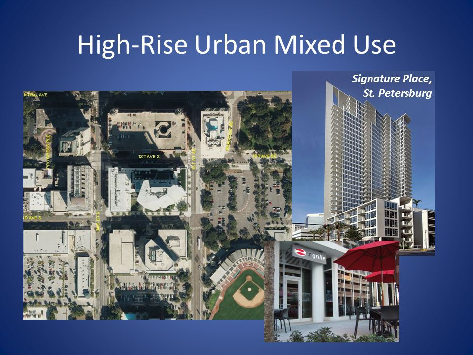 High-Rise Urban Mixed Use Signature Place, St. Petersburg