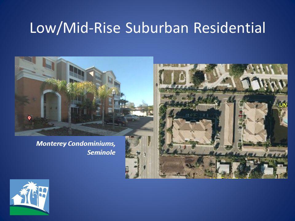 Low/Mid-Rise Suburban Residential Monterey Condominiums, Seminole