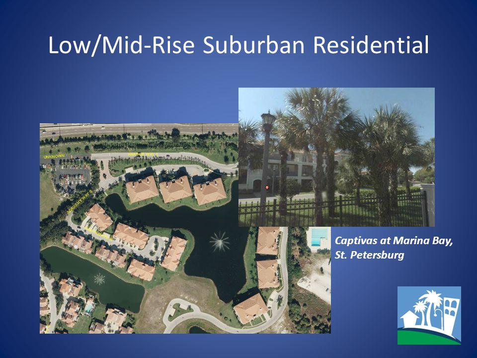 Low/Mid-Rise Suburban Residential Captivas at Marina Bay, St. Petersburg