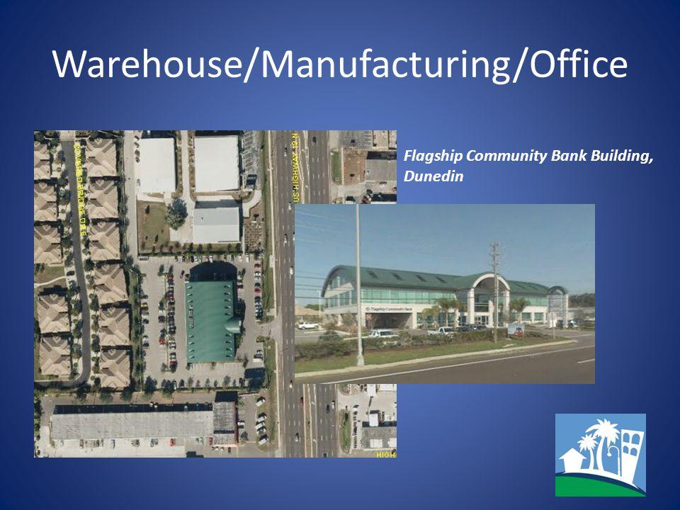 Warehouse/Manufacturing/Office Flagship Community Bank Building, Dunedin