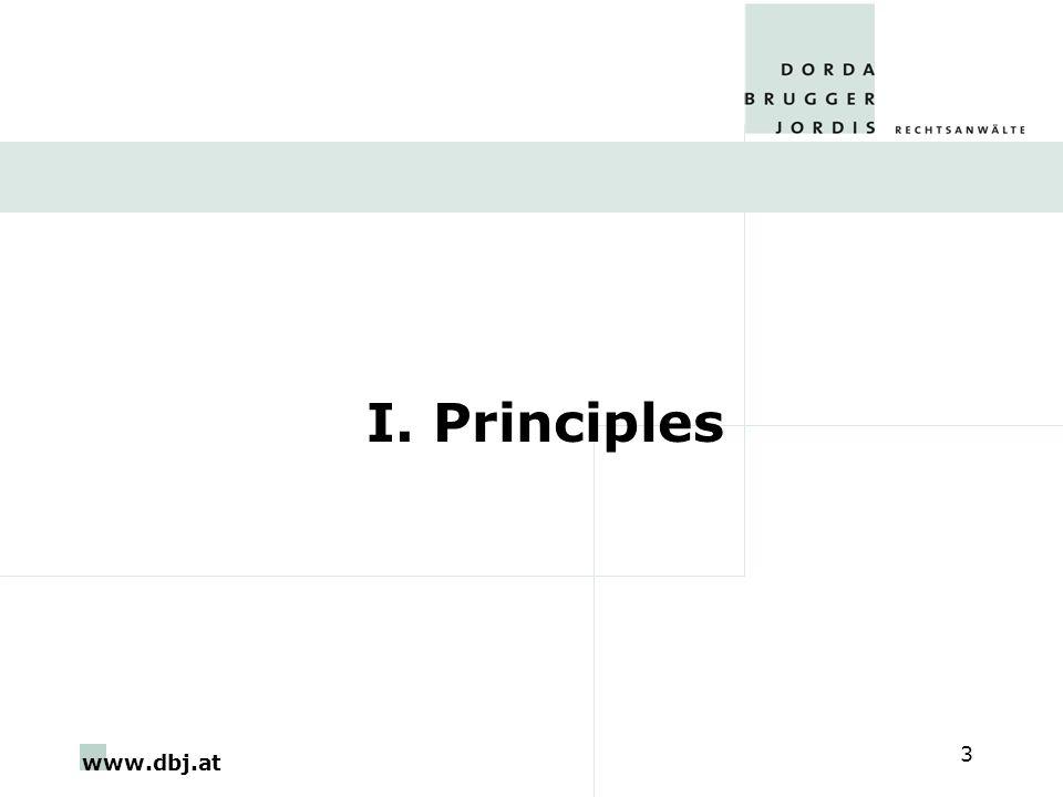 www.dbj.at 3 I. Principles