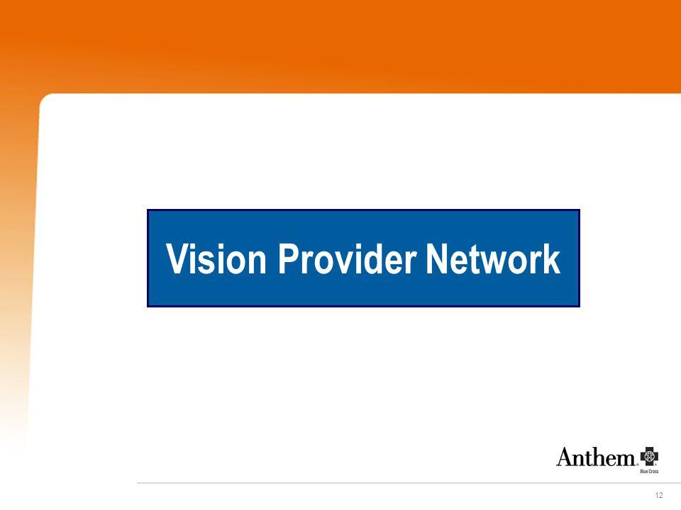 12 Vision Provider Network