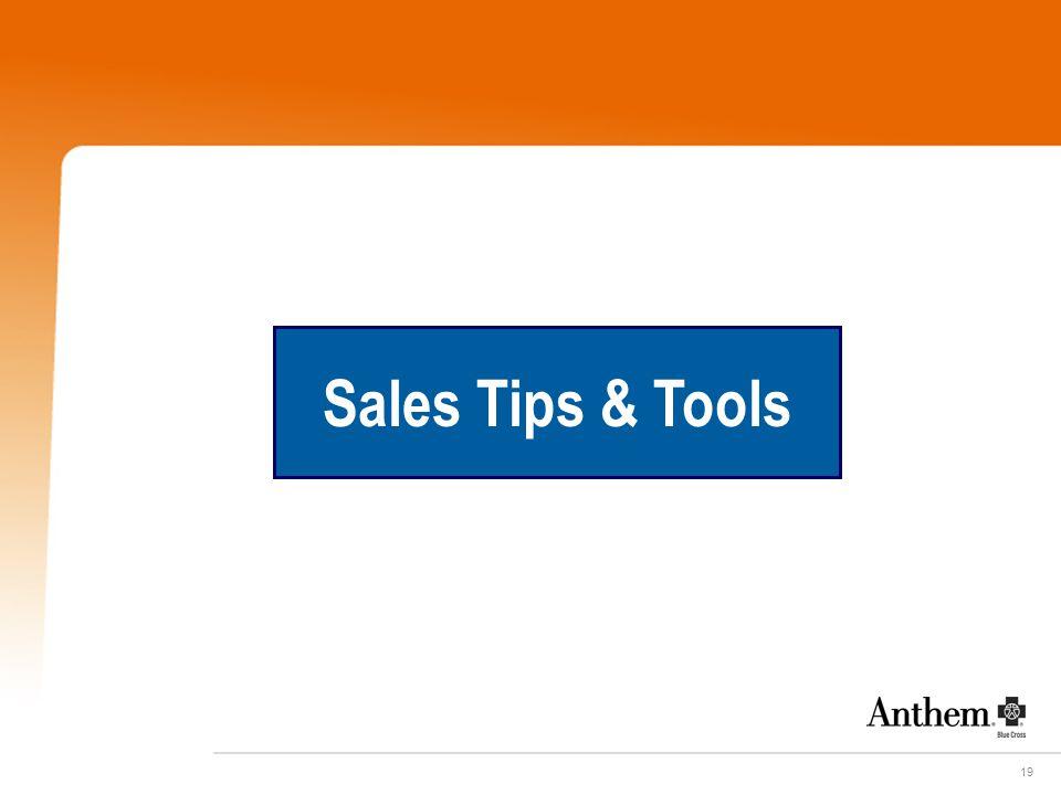 19 Sales Tips & Tools