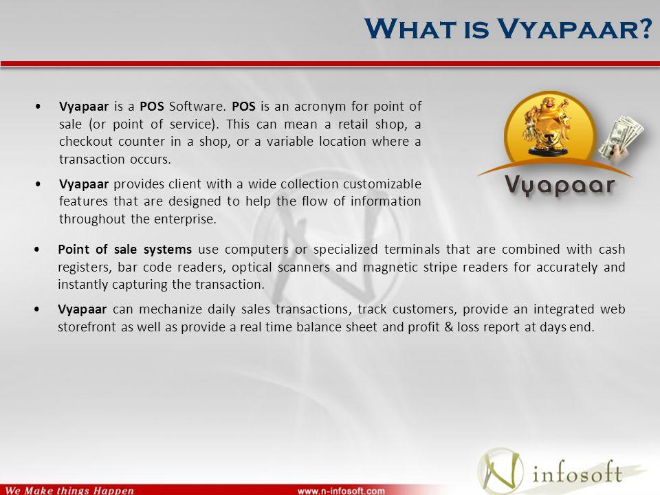  Configuration of Vyapaar : Multi stores Synchronized Configuration Database Synchronized
