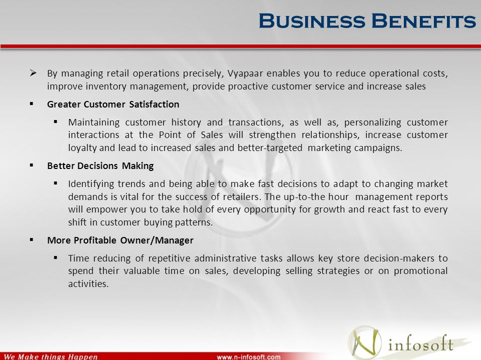  Vyapaar is ideal for a host of varied retail verticals viz.