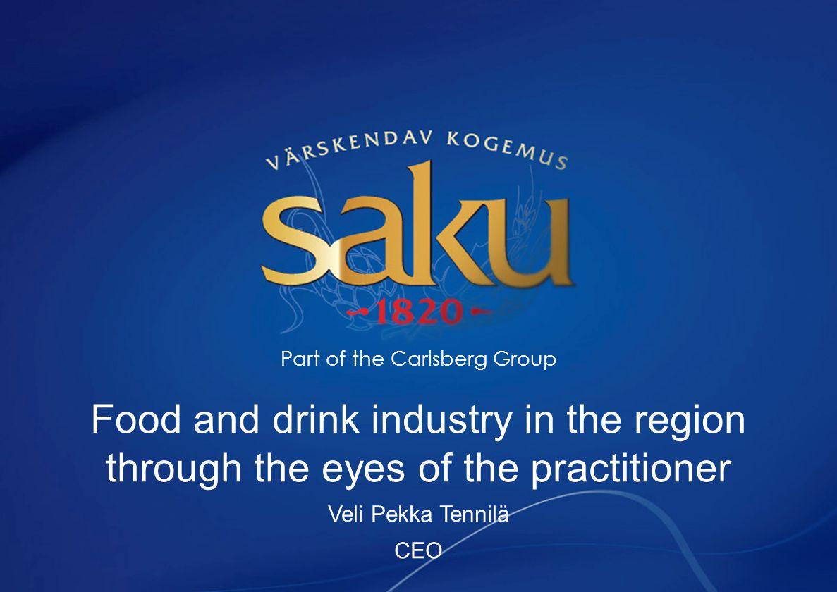 Agenda Carlsberg Group Today Saku Õlletehase AS Food and Beverage Industry – impact and insights Beer Industry – impact and insights