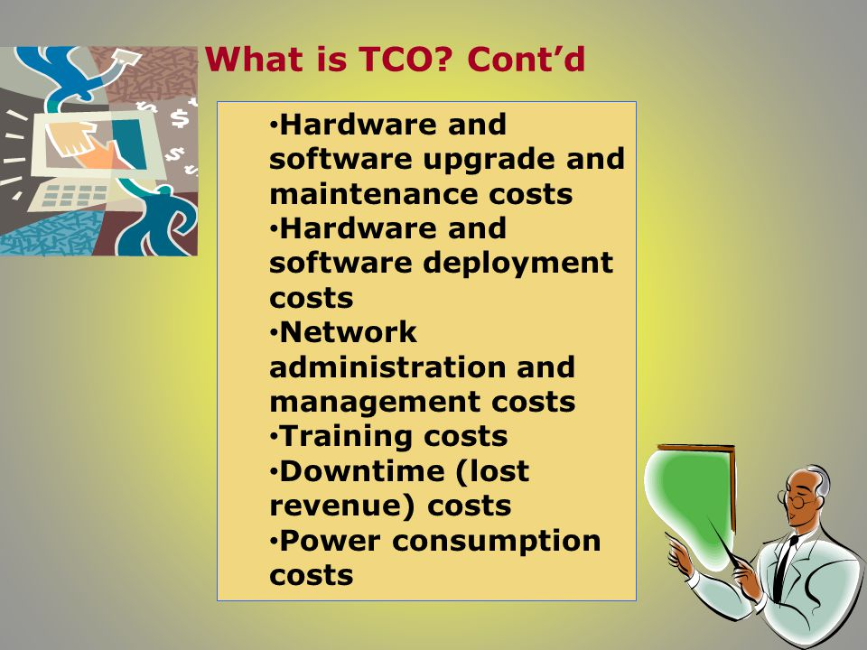 What is TCO.