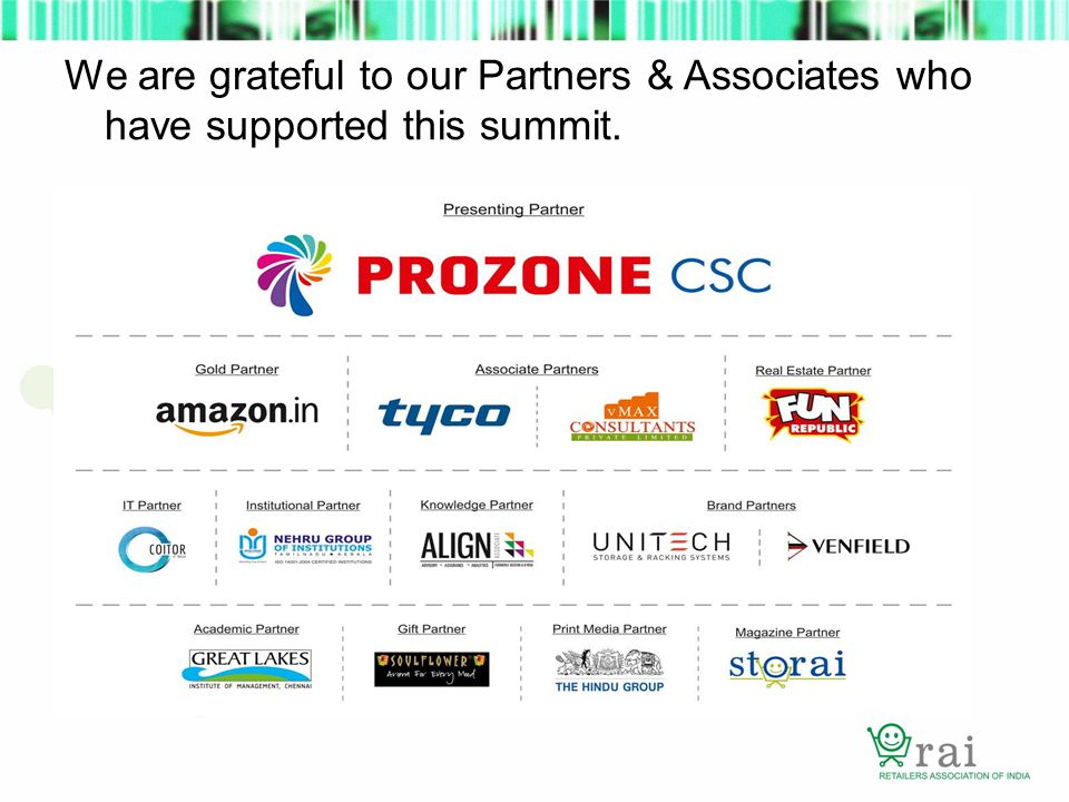 We are grateful to our Partners & Associates who have supported this summit.