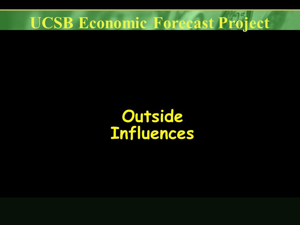 UCSB Economic Forecast Project Outside Influences