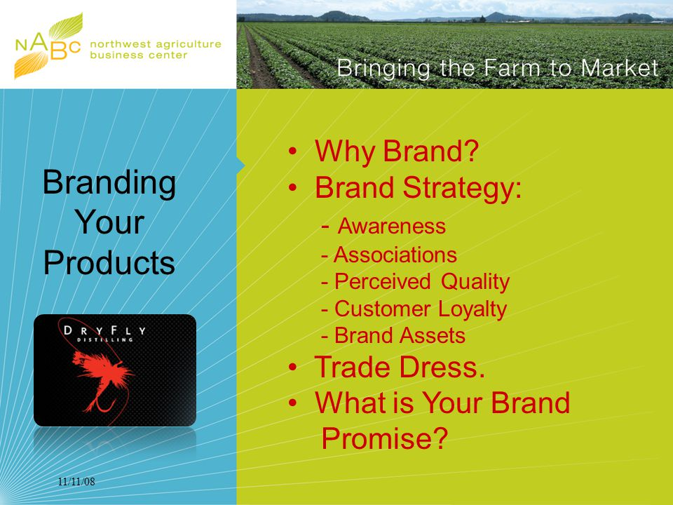 11/11/08 Branding Your Products Why Brand.