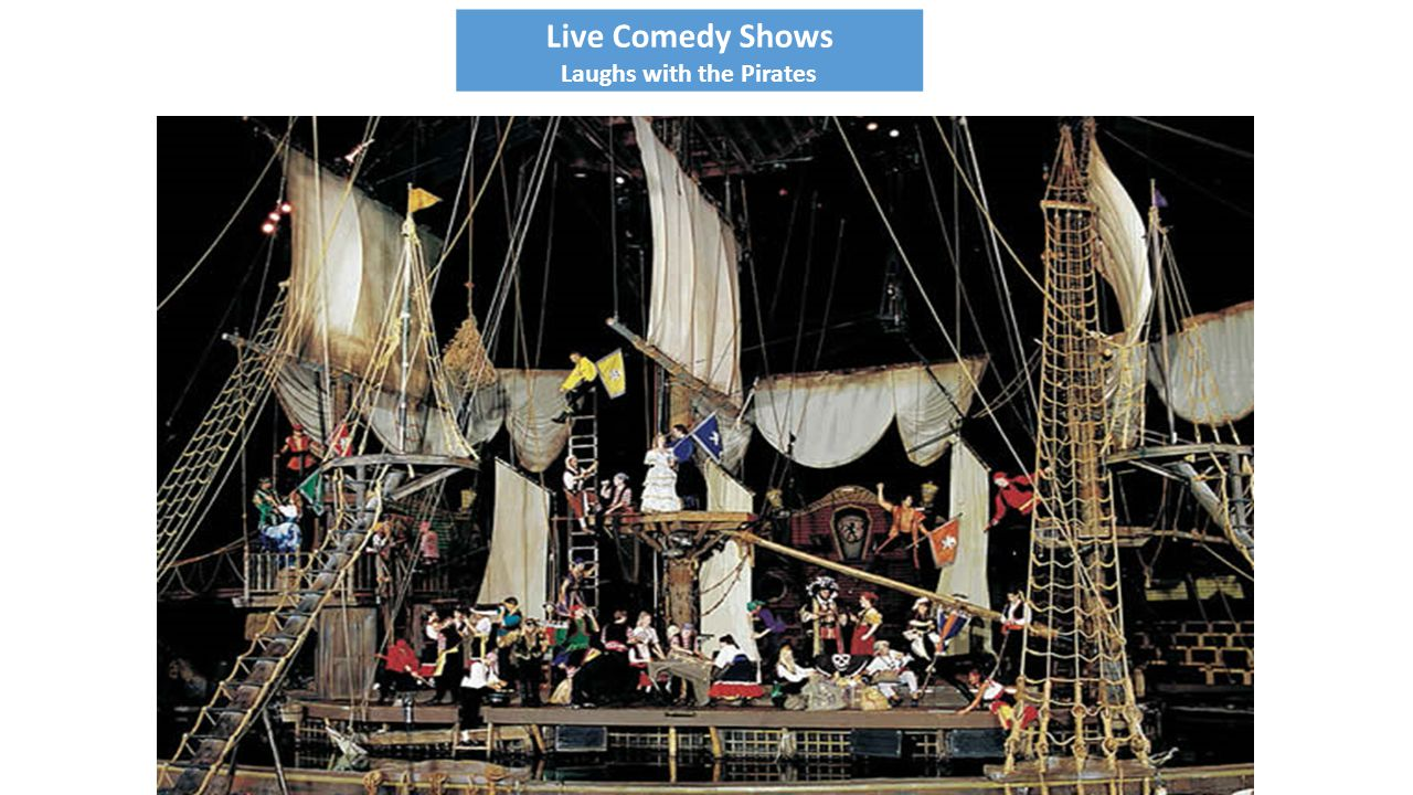 Live Comedy Shows Laughs with the Pirates