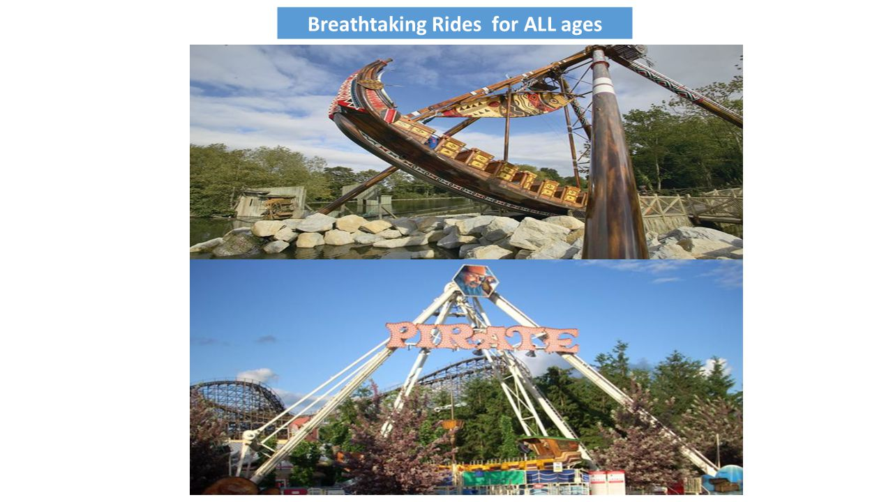 Breathtaking Rides for ALL ages