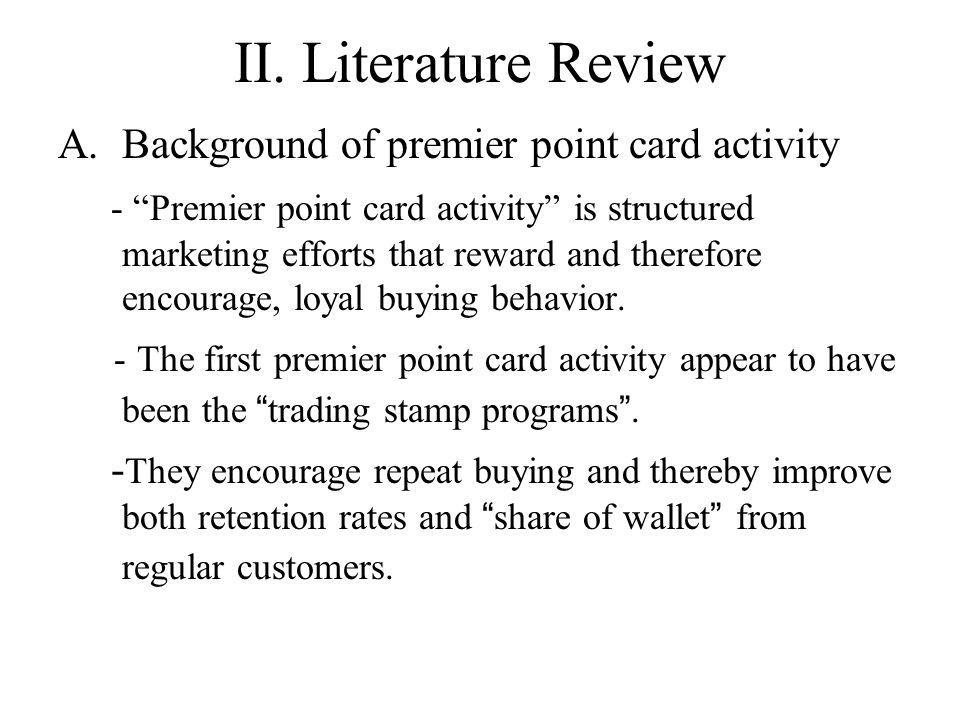 II.Literature Review B.