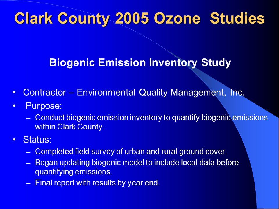Establishing Upper Air Wind Measurements in Clark County Contractor – Desert Research Institute Purpose: – Establish upper air wind measurements in Clark County.