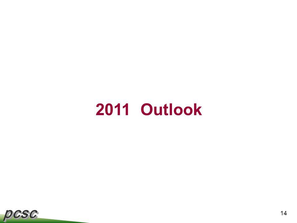 pcscpcsc 14 2011 Outlook