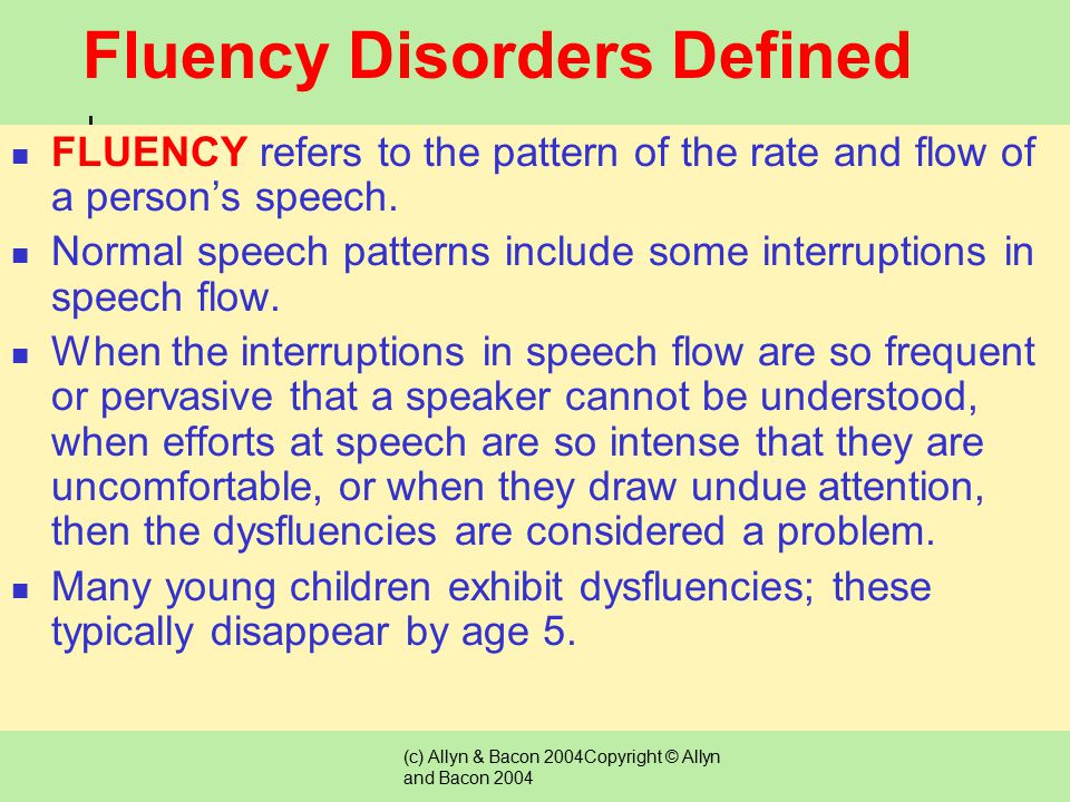 (c) Allyn & Bacon 2004Copyright © Allyn and Bacon 2004 Questions to Ask Before Referring a Student for a Possible Voice Disorder Might the voice quali