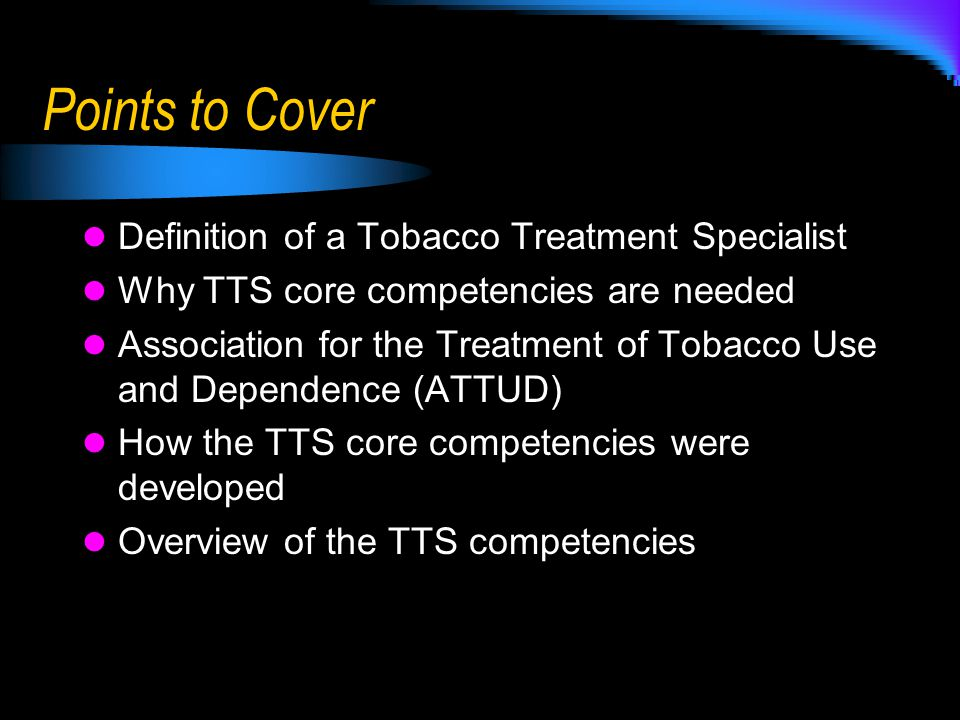 Who is a Tobacco Treatment Specialist.