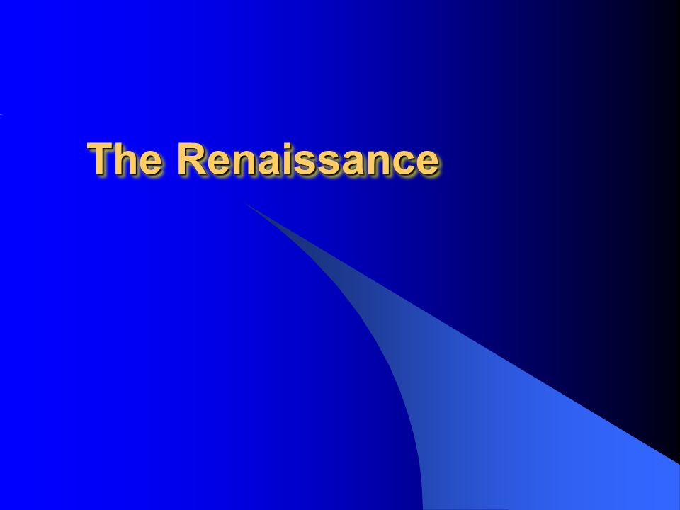 Toward the Renaissance Renewed interest in Classical texts New artistic realism Attention to the world of nature –St.