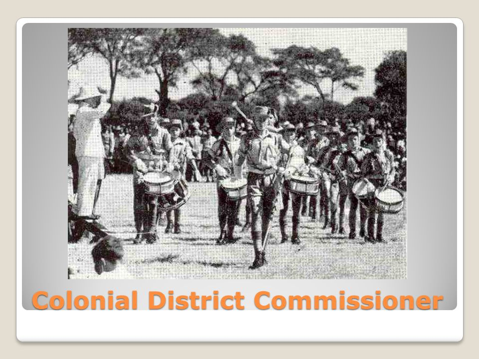 Colonial District Commissioner