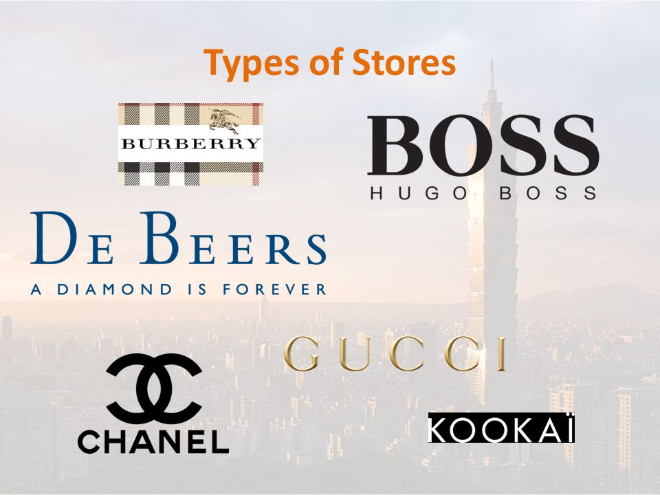 Types of Stores