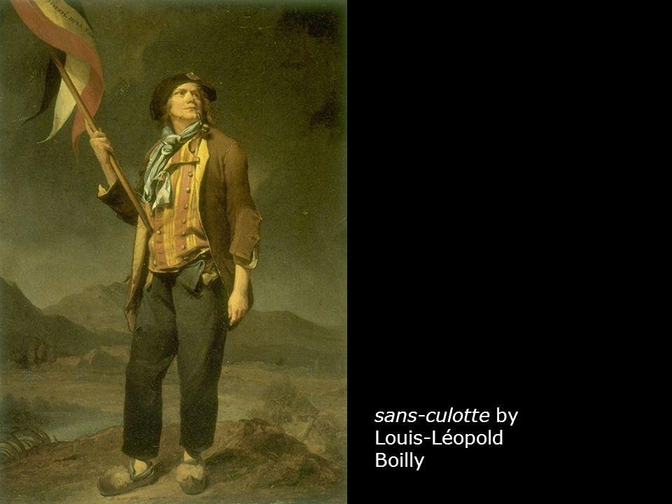 sans-culotte by Louis-Léopold Boilly